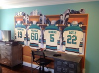 SAN JOSE SHARKS ROOM