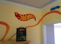 HOT WHEELS ROOM