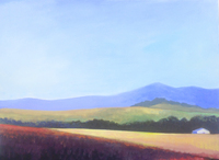 wine country, 30x40 in